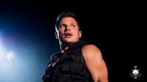 Nick Lachey from 98 Degrees from the Tuscaloosa stop of the MY2K Tour 2016