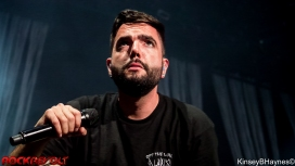 Jeremy McKinnon from A Day To Remember at the Atlanta stop of the Summer Blink 182 Tour 2016